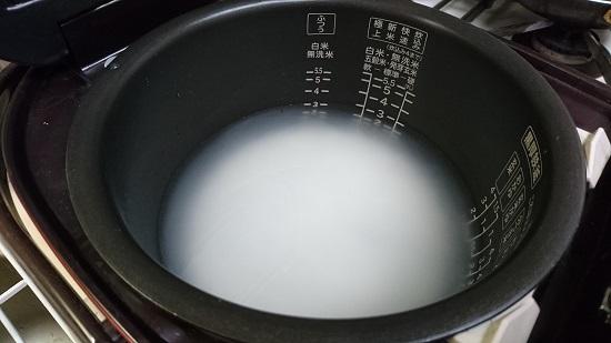 おかゆを作る